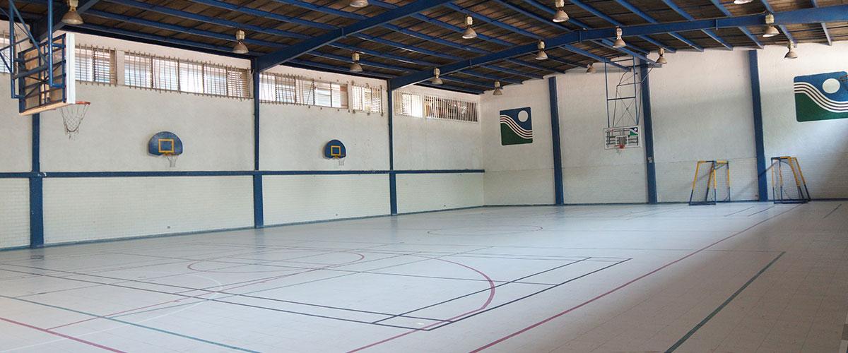 Cancha basquetbol