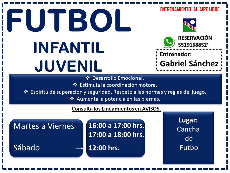 FUTBOL INFANTIL CN