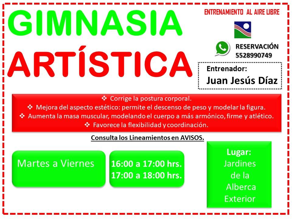 GIMNASIA ARTÍSTICA CN